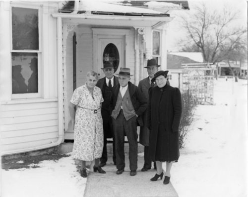Palenske family at Alma, Kansas - Page