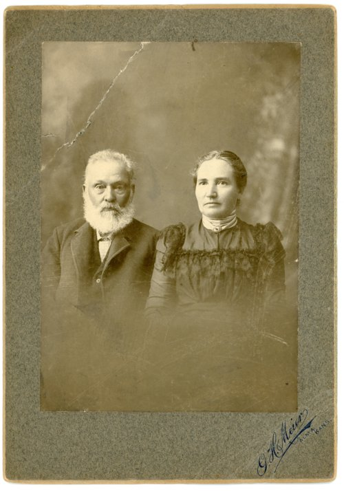 Portrait of Joseph and Augusta Dieball Thoes - Page