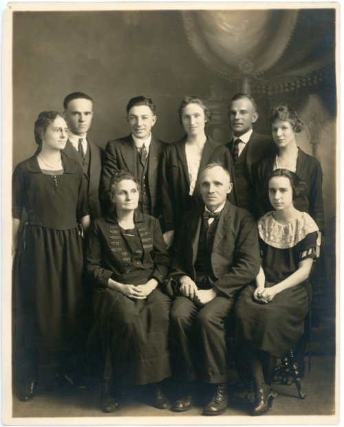Palenske family at Burlington, Kansas - Page