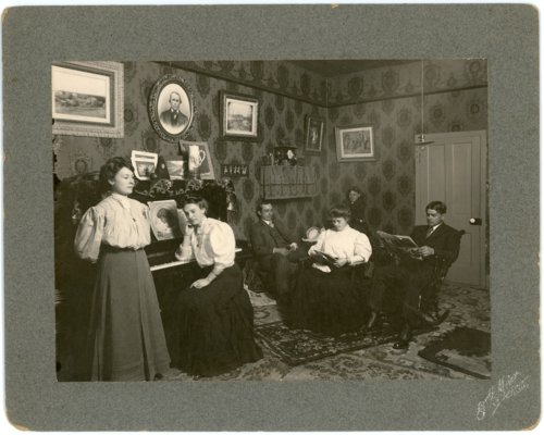 Interior view of Palenske home - Page