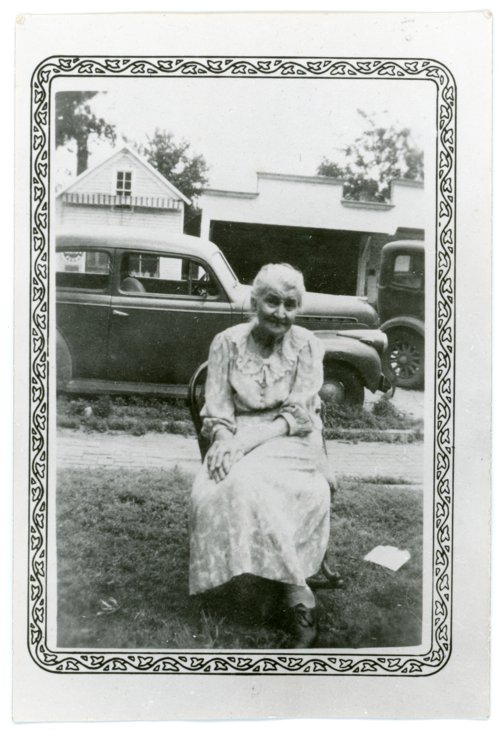 Photo of Bertha Eck of Alma, Kansas - Page