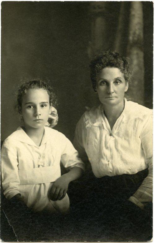 Emma and Florence Palenske - Page