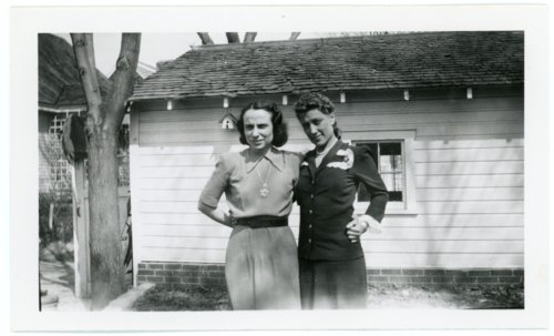 Florence Palenske Hallgren and Ada Sage Laverty in Omaha - Page