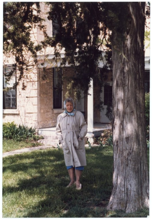 Ada Sage Laverty at Alma, Kansas home - Page