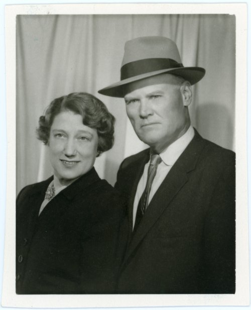 Portrait of Frank and Ada Laverty, Alma, Kansas - Page