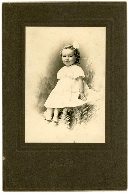 Studio portrait of Florence Palenske - Page