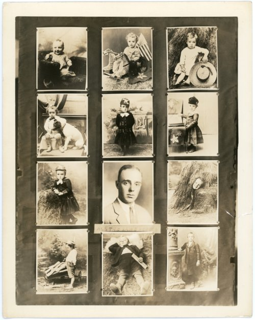 Sample cabinet card views of Fred Palenske - Page