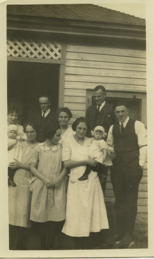 Palenske family gathering, Burlington, Kansas - Page