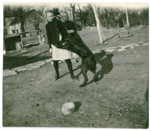 Laura Palenske with Jack, the dog - Page