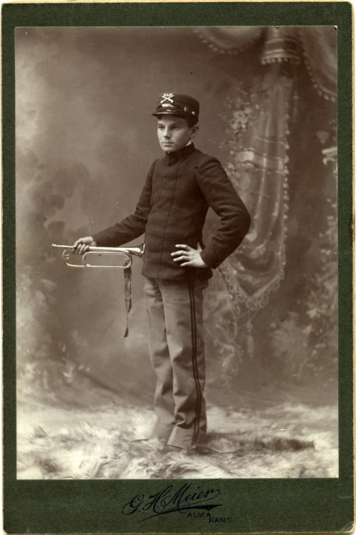Cabinet card of Max Palenske - Page