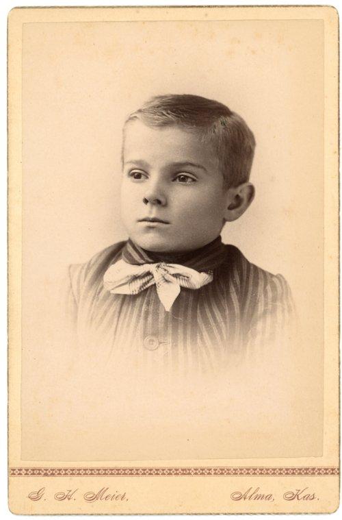 Studio portrait of Max Palenske - Page