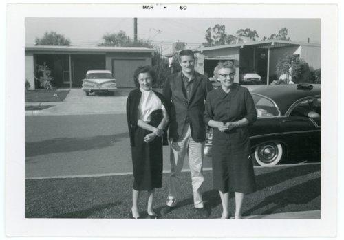 Palenske family in California - Page
