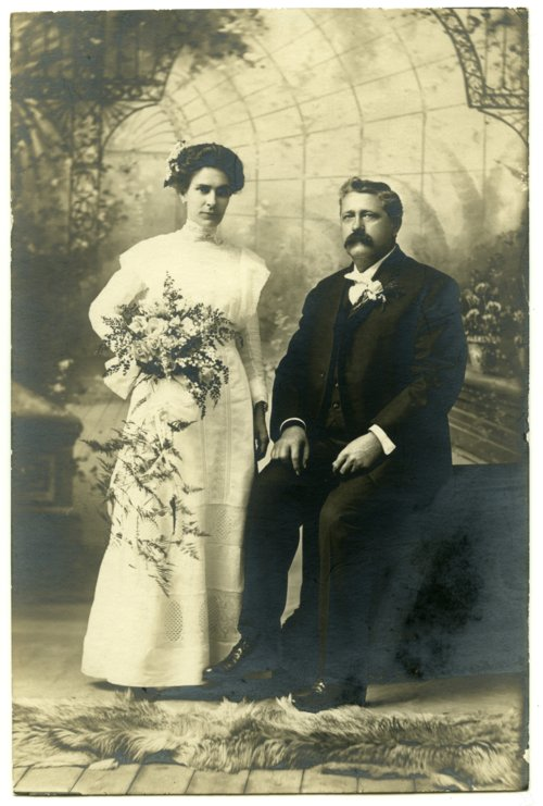 Wedding photo of Gus and Mary Meier - Page