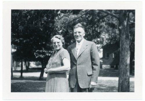 Martin and Minnie Zwanziger, Alma, Kansas - Page