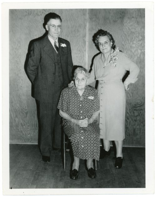 Martin and Minnie Zwanziger and Emma Palenske - Page