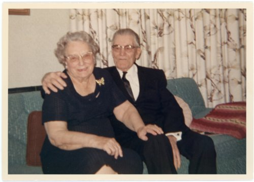 Martin and Minnie Palenske Zwanziger, Alma, Kansas - Page