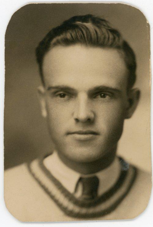 Studio portrait of Victor Palenske - Page