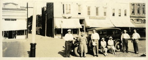 Palenske family at Osage City, Kansas - Page