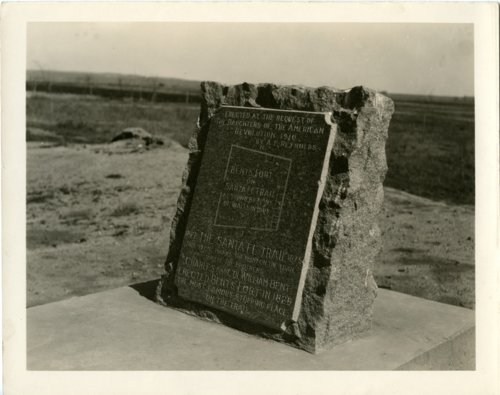 Bent's Fort, Colorado marker - Page