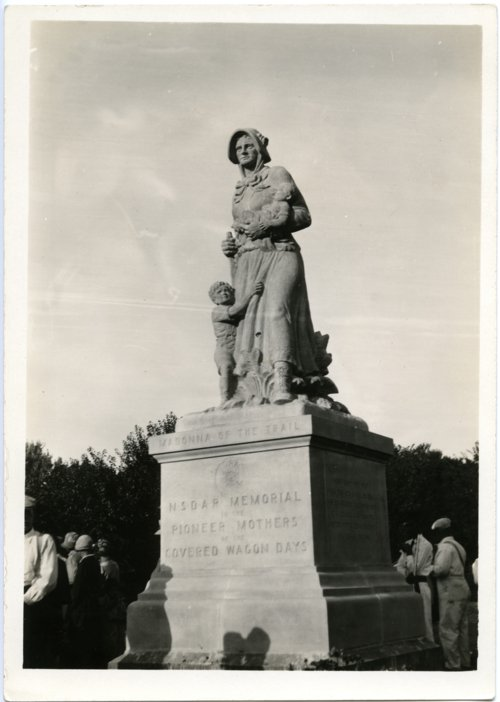 Madonna on the Trail, Council Grove, Kansas - Page