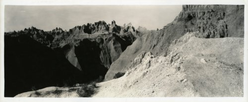 Unidentified Western view, possibly Badlands - Page