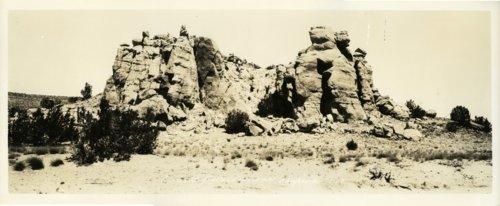 Enchanted Mesa near Laguna Pueblo, New Mexico - Page