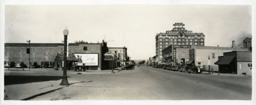 Street scene, Rapid City, South Dakota - Page