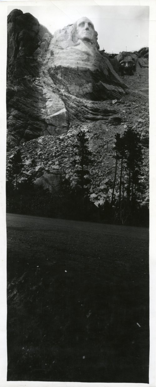 Mount Rushmore, South Dakota under Construction - Page