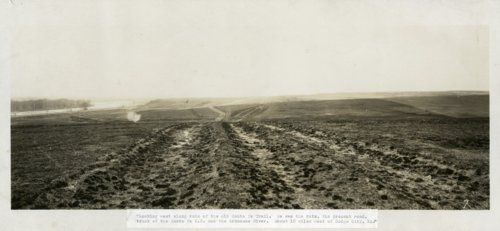 Santa Fe Trail Ruts, ten miles west of Dodge City - Page
