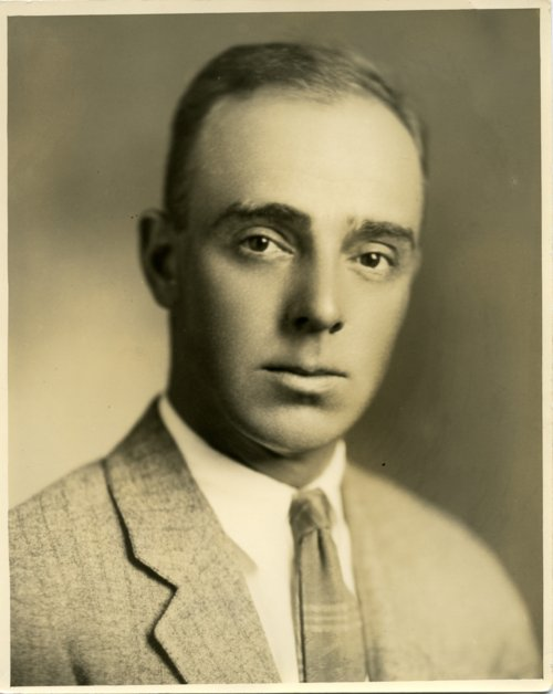 Studio portrait of Fred Palenske - Page