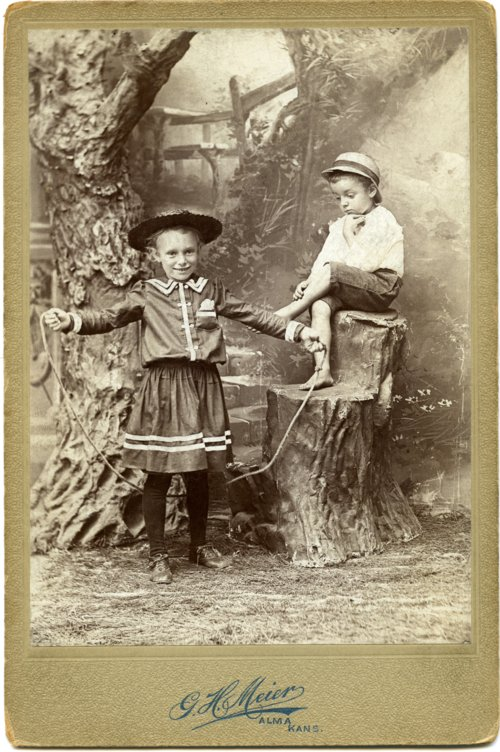Minnie and Fred Palenske cabinet card - Page