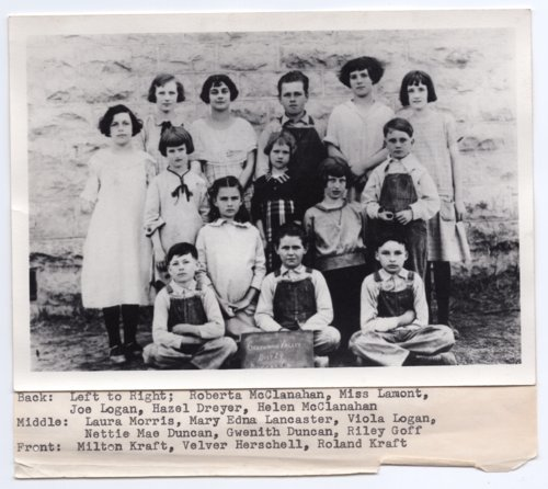 Greenwood Valley School District #24, Lecompton township, Douglas County, Kansas - Page