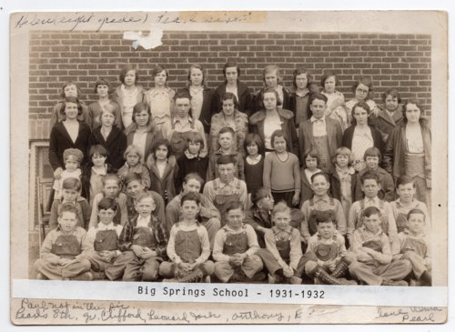 Big Springs School, Lecompton township, Douglas County, Kansas - Page