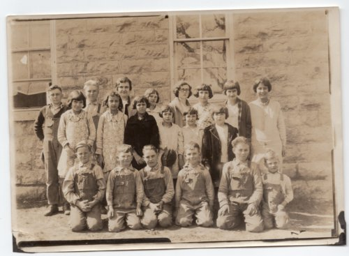 Greenwood Valley School District No. 24, 1928-1929, Lecompton township, Douglas County, Kansas - Page