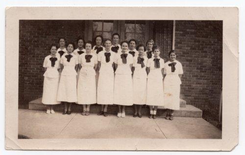 Lecompton High School Girls Glee Club, Lecompton, Kansas - Page