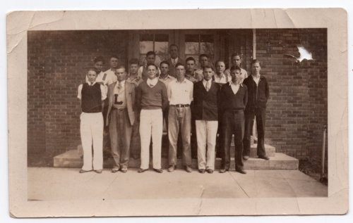 Lecompton High School males, Lecompton, Kansas - Page