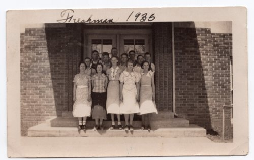 Lecompton High School Freshman class of 1935, Lecompton, Kansas - Page