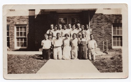 Lecompton High School students, Lecompton, Kansas - Page