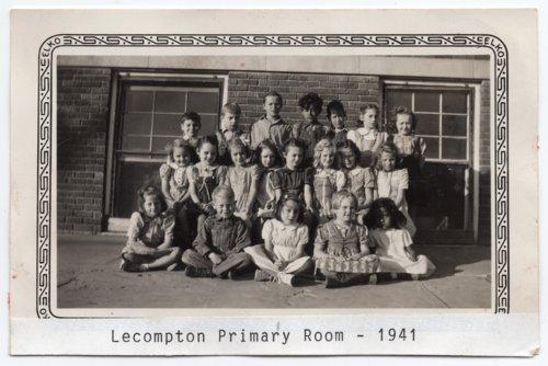 Lecompton Primary class, 1941, Lecompton, Kansas - Page