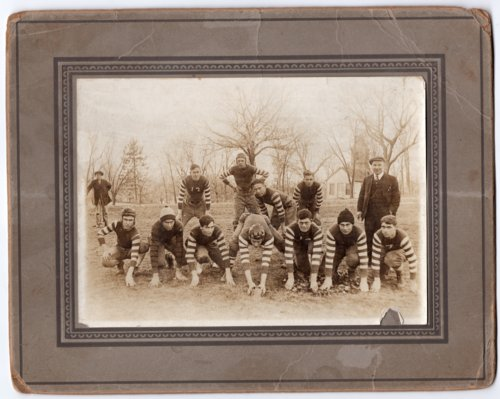 Lecompton High School Football Team 1916, Lecompton, Kansas - Page