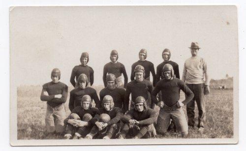 Lecompton High School Football team, 1930, Lecompton, Kansas - Page
