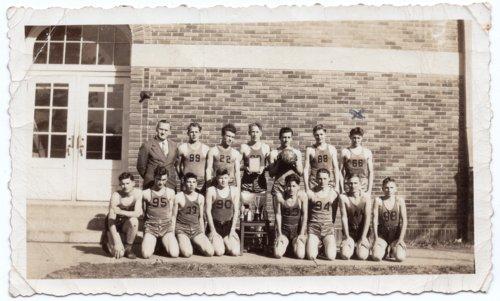Lecompton High School 1942 Basketball Champions, Lecompton, Kansas - Page