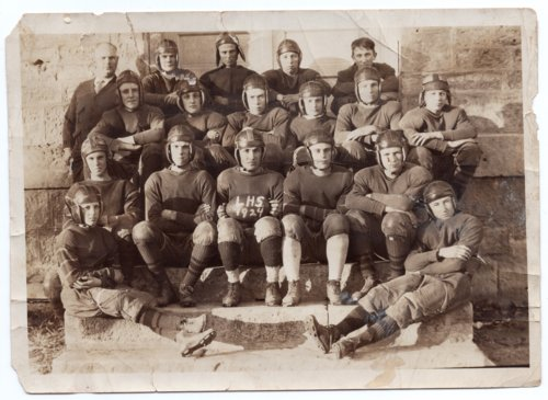 1924 Lecompton High School Football Team, Lecompton, Kansas - Page