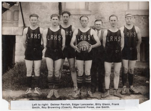 1927 Lecompton Rural High School Basketball team, Lecompton, Kansas - Page
