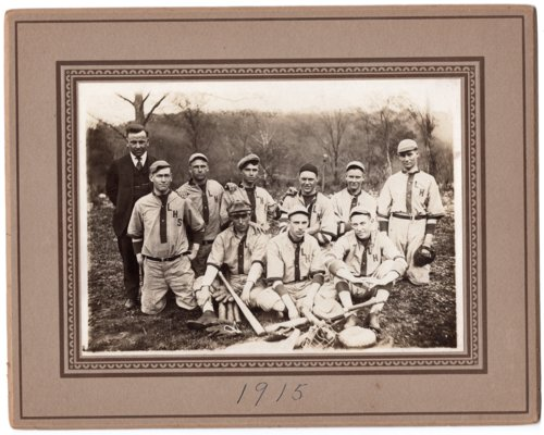Lecompton Rural High School Baseball Team, Lecompton, Kansas - Page