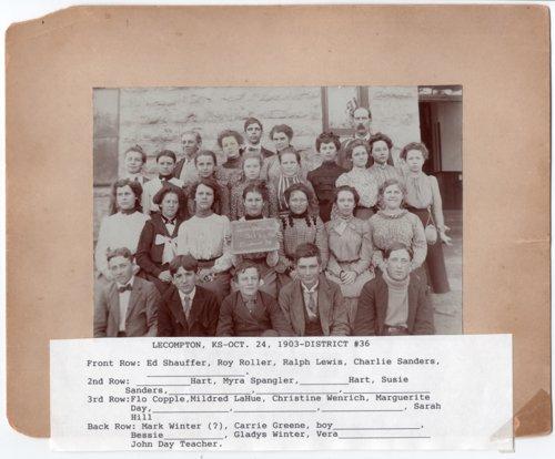 Lecompton High School, District #36, Lecompton, Kansas - Page