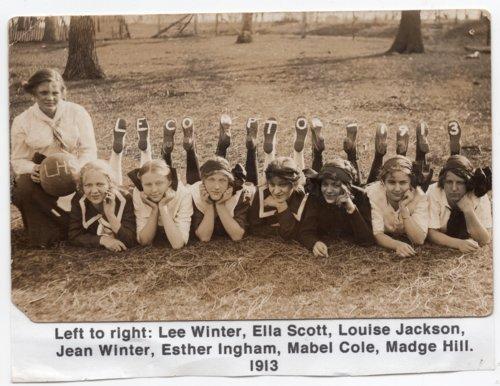 Lecompton High School Girl's Basketball team, Lecompton, Kansas - Page