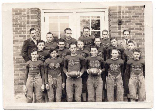 1941 Lecompton High School Football Team, Lecompton, Kansas - Page
