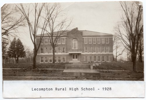 Lecompton Rural High School Building, Lecompton, Kansas - Page