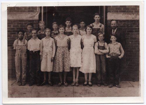 Lecompton Grade School, 1933, Lecompton, Kansas - Page